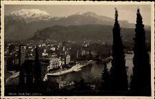 Riva del Garda Italien Gardasee ~1920/30 Gesamtansicht Berge Cartolina Postcard