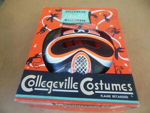 Vintage 60's Moonmaster Ben Cooper Collegeville Halloween Costume in Box RARE!
