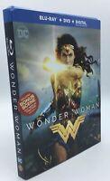 Wonder Woman [2017]  Blu-ray+DVD+Digital & Slipcover