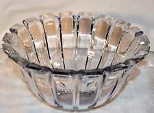 Unmarked Art Deco Style Crystal Bowl