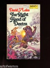 DAW #  239  THE RIGHT HAND OF DEXTRA, , David J Lake   1st    SB, VG