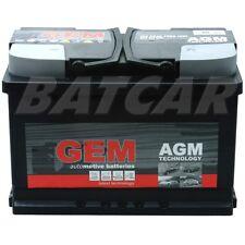 AGM Gem 12V 70Ah 760A/EN Starterbatterie-Autobatterie | BMW
