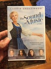 The Sound of Music Live! (DVD, 2013) Carrie Underwood * NEW *