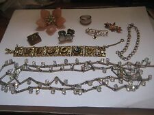 10 Piece Lot of Victorian to Now  Jewelery All Wearable Lot 2