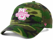 MARQUETTE GOLDEN EAGLES WOMENS 47 BRAND NCAA CAMO AND PINK HAT CAP OSFM