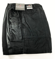 Woolrich Tactical Elite Mens 44 42 40 36 32 30 Ripstop Black Cotton Cargo Shorts