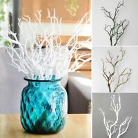 US Naturally Dried Cotton Stems Farmhouses Artificial Flower Filler Floral Decor