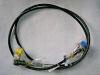 2pcs 7/16 Female ---> N male HQ CellFlex 1/4inch 1.70cm E.M.E. VHF SHF