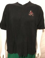 Vintage Arizona Coyotes Heavy T-shirt Size L Made In Canada Antigua