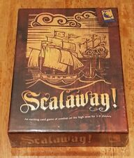 NEW!! Scalaway! Card Game by Troubadour LLC, Hard to Find Kickstarter Edition
