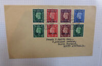 BRITISH COMMONWEALTH MOROCCO AGENCIES 1937 GEO. VI FRENCH SPANISH BRITISH COV.