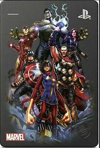Playstation 4 External Game Drive 2TB Marvel Avengers Gamer Verse Ltd  BRAND NEW