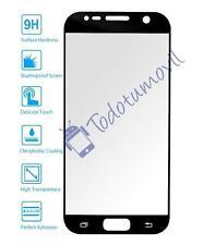Cristal templado protector de pantalla completo 3D para Samsung Galaxy S7 negro