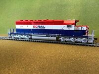 BOWSER HO 1/87 BCR BRITISH COLUMBIA RY GMD SD40-2 DCC READY RD #759 FS # 24446
