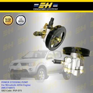 Power Steering Pump For Mitsubishi Triton Storm L200 4D56 2.5L 4PK (MR374897)