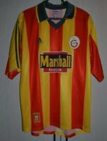 GALATASARAY TURKEY 1999/2000 HOME FOOTBALL SHIRT JERSEY ADIDAS SIZE L ADULT