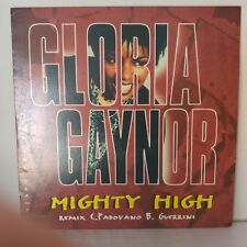 "Gloria Gaynor Featuring The Trammps ‎– Mighty High (Vinyl 12"" Maxi 33 Tours)"