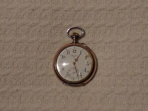 Antique Swiss Silver Longines Pocket Watch – Grand Prix Paris 1900