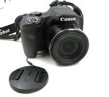 Canon PowerShot SX520HS 12.1 MP Digital Camera 42X Optical Zoom +2GB Disk & Batt