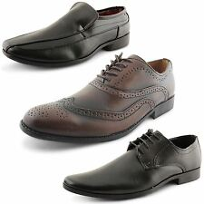 Unbranded Lace-up 100% Leather Formal Shoes for Men