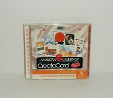 American Greetings CreataCard Special Edition PC CD Rom Windows