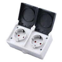 IP44 Red Cable Mount Female Socket 214-6 3 Phase PCE 16A 4 Pin 3P+E 400V