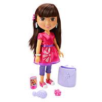 """Fisher-price Friendship Adventure Dora Doll 14"""" New"""