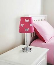 Design Cut out Kids Table Lamp Keep Your Childrens Room a Magical Place Hot Pink Butterfly