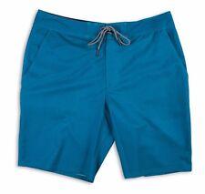 Matix WELDER Mens 100% Polyester 2-Way Stretch Boardshorts 31 Teal NEW