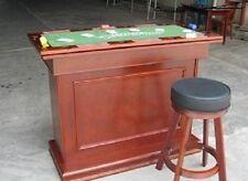 Pokerbar Spieltisch 4 in einer Theke Länge143cm Blackjack/Roulette/Würfel/Theke