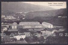COMO CITTÀ 78 CASERME DE CRISTOFORIS Cartolina viaggiata 1916