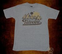 New Star Wars Welcome Tatooine Vintage Retro Mens T-Shirt