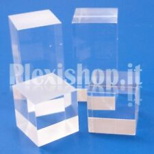 Cubetto 50x50x80 - 6 lati lucidi in plexiglass
