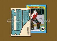 Bernie Parent - Philadelphia Flyers - Custom Hockey Card  - 1978-79