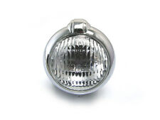 Motorbike Headlight Headlamp Retro Project Vintage Classic Bates Style - CHROME
