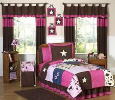 Jojo Pink Brown Western Horse Cowgirl Girl Kid Teen Full Queen Sized Bedding Set