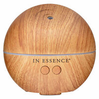 In Essence USB Mini Ultrasonic Aromatherapy Essential Oil Diffuser - Woodgrain