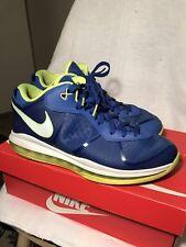 "Nike Zoom Lebron 8 V/2 Low ""Sprite"" Colorway Mens 10.5"