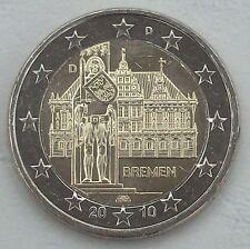 2 Euro Deutschland D 2010 Roland Bremen unz