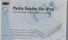 BELKIN MEDIA READER FOR IPODS STORE THOUSANDS PHOTOS