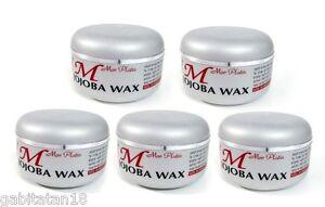 Mon Platin Wax Jojoba x 5, 150ml / 5.1oz FREE SHIPPING WORLDWIDE