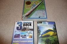 Tranz Simulator -2010, 3 Simulation pack, design your own train (EA-0-3002)