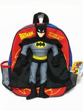 Batman Red,Blue Backpack Bookbag Kid Boy School Shoulder Bag #029