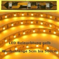 S337 LED Beleuchtung nach Maß von 5cm bis 500cm GELB SMD LEDs Modellbeleuchtung