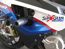 BMW 2010-2011 S1000RR Shogun Frame Slider Kit w/ Bar Ends & Spools No Cut Black