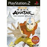 Avatar The Legend Of AANG Playstation 2 ps 2 Video Game - FAST & FREE POSTAGE