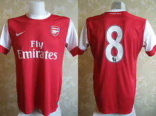 Arsenal London #8 2010/2011 Home MATCH WORN? PLAYER ISSUE shirt jersey maglia