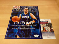 Jason Kidd SI Cover Mavericks Dirk Autographed Signed 8X10 Photo JSA COA