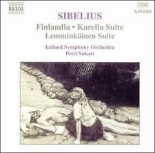 Sibelius (Finlandia-Karelia Suite- Lemminkainen Suite), New Music