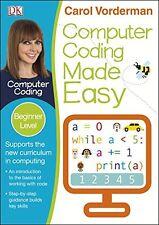 Codificación de computadora simplificada Nuevo Libro De Bolsillo Carol Vorderman